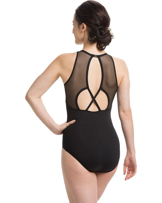 Ainsliewear Adult Leotard with Mesh 1004ME (Stores Only)