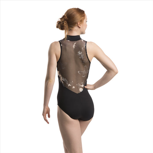 Ainsliewear Adult Leotard with Butterflies 1062BU (Stores Only)