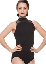 Ainsliewear Adult Leotard with Mesh 1065ME (Stores Only)