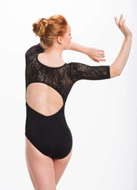 Ainsliewear Leotard with Kara Lace 187KL (Stores Only)