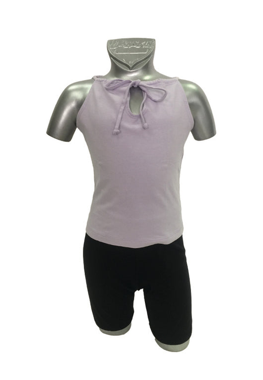 Katie Dance Teens Cotton Top Ribbon Tie