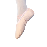 TDS Child Premium Canvas Split Sole Ballet Shoe