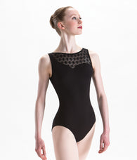 Motionwear Asymmetric Tank Leotard (Stores Only)