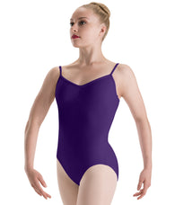Motionwear Pinch Front Loop Back Cami Leotard (Stores Only)