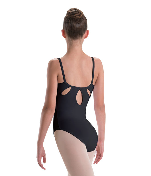 Motionwear Pinch Front Tear Drop Back Camisole Leotard (Stores Only)