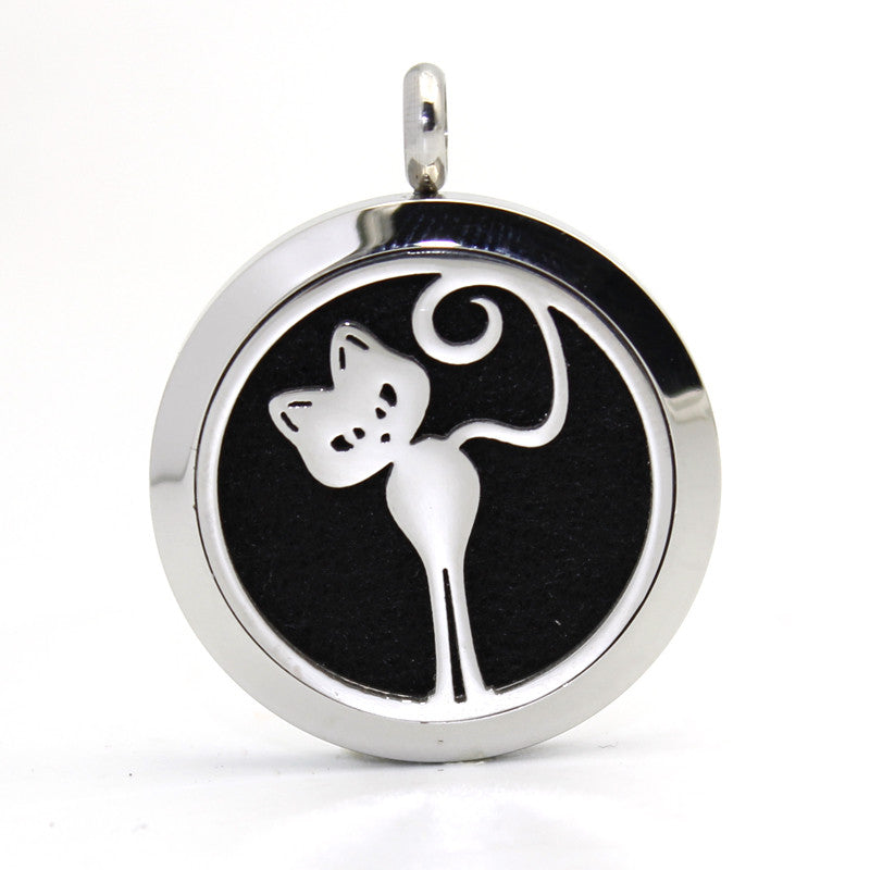 Cat Aromatherapy Locket