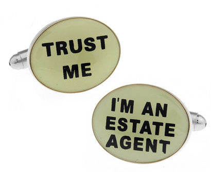I'm An Estate Agent Cuff Links