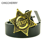 Sheriff Buckle With Belt