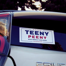 """Teeny Peeny"" Trump/Pence Parody Sticker"
