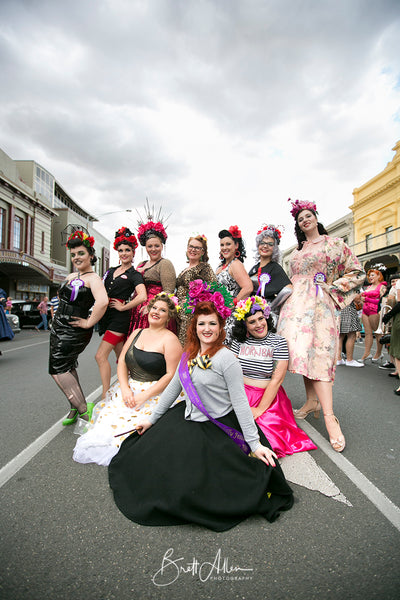 Testimonials from the Ballarat Beat Rockabilly Festival Pinup Competition.