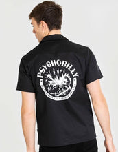 Chet Rock by Hell Bunny - Psychobilly Bowling Shirt