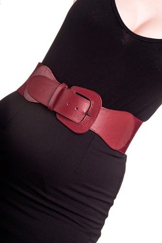 Hell Bunny Rizzo Belt - Red or Black