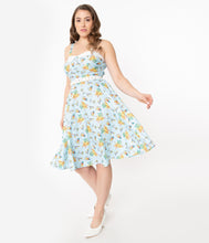 I Love Lucy x Unique Vintage Club Babalu Rachel Swing Dress
