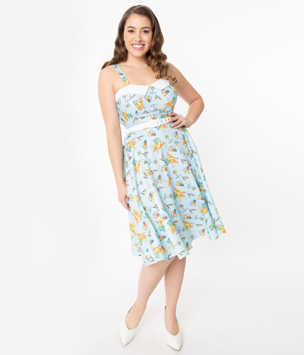 PREORDER - I Love Lucy x Unique Vintage Club Babalu Rachel Swing Dress