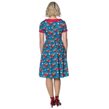 Christmas Drive Thru Collar Dress by Banned Apparel - Sizes XSmall to XLarge
