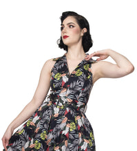 Rebel Love - Laguna Lady Gaucho Jumpsuit, Tropical Leaves