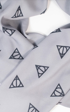 HARRY POTTER X UV DEATHLY HALLOWS PRINT SCARF