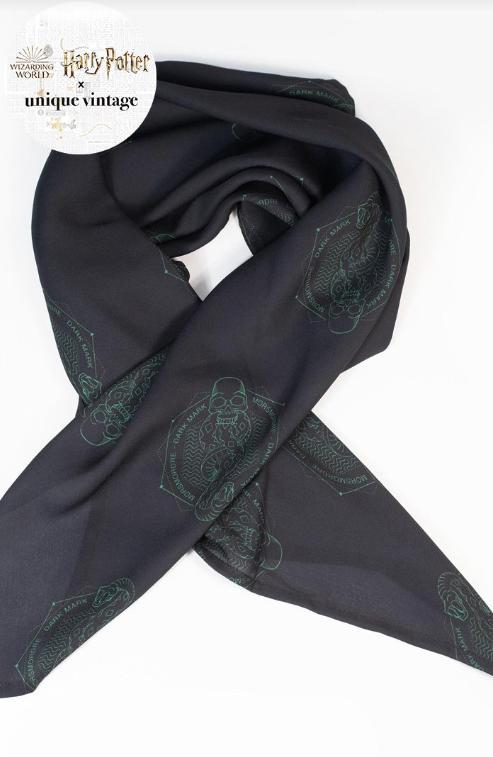 HARRY POTTER X UV DEATH MARK PRINT SCARF
