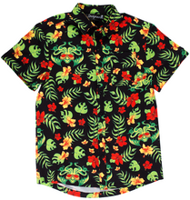 Sourpuss Tropicthulhu Guys Button Down Shirt - Only Size Small Left