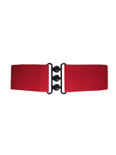 Collectif Nessa Cinch Belts - Red, White or Black