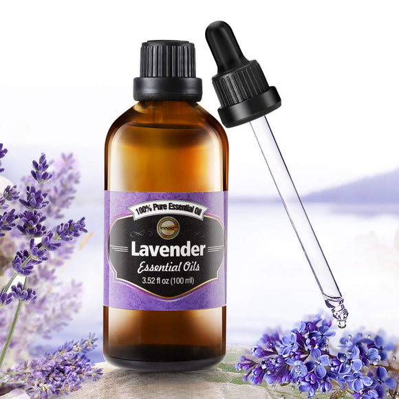 Innoo Tech Natural True Lavender Essential Oil 100ml