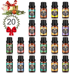 Innoo Tech Essential Oils Set, 20 Blends