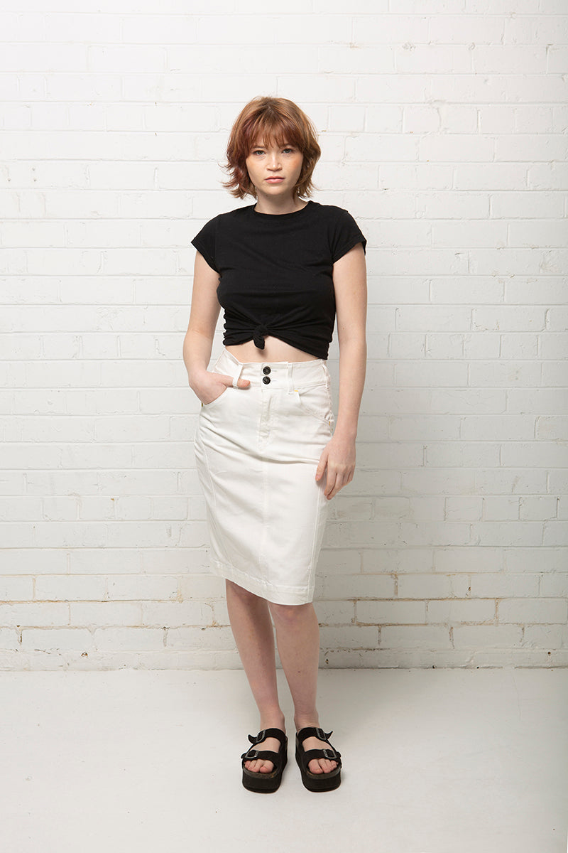 Bondi White 2 Skirt