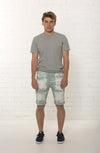 Bespoke men's mid rise organic summer short limited edition by TRi COLOUR FEDERATiON