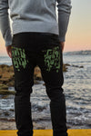 Mountain Moss Green Bespoke jean by TRi COLOUR FEDERATiON