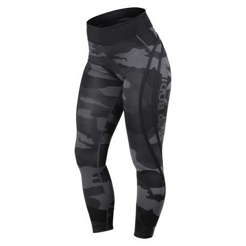 BB - Camo High Tights (Svart Camo)