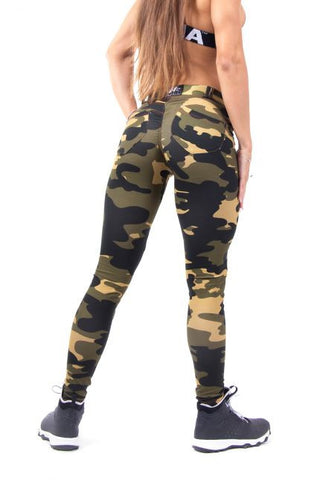 Bubble Butt Pants - Camo