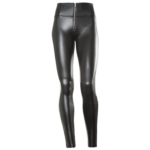 WR.UP® High Waist Eco Leather Svart (N)