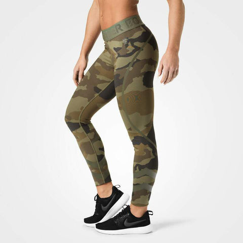BB - Chelsea Tights (Grön Camo)