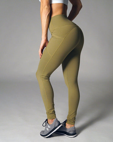 Lunar Leggings - Olive