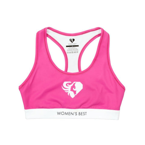 Women's Best - Exclusive Sports Bra (Pink/White)