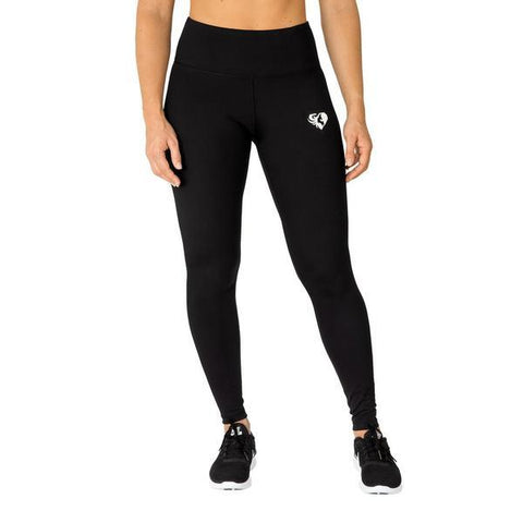 Women's Best - High Waist Leggings Black/White