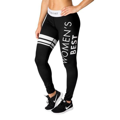 Women's Best - Inspire Leggings (Black/White)