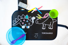 NEW! Color It & Eat Place Mat