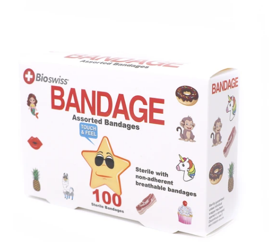 Self-Adhesive Novelty Bandages | In-Stock, Ships Thursday