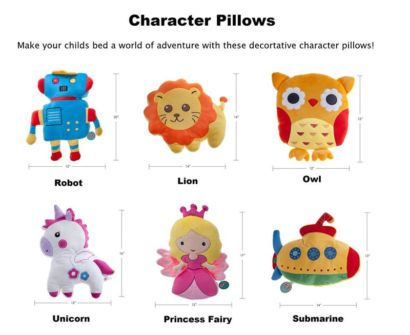 Quilt Buy - Character Pillows