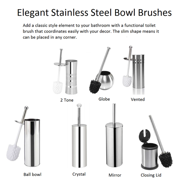 Elegantly Clean Bowl Brushes