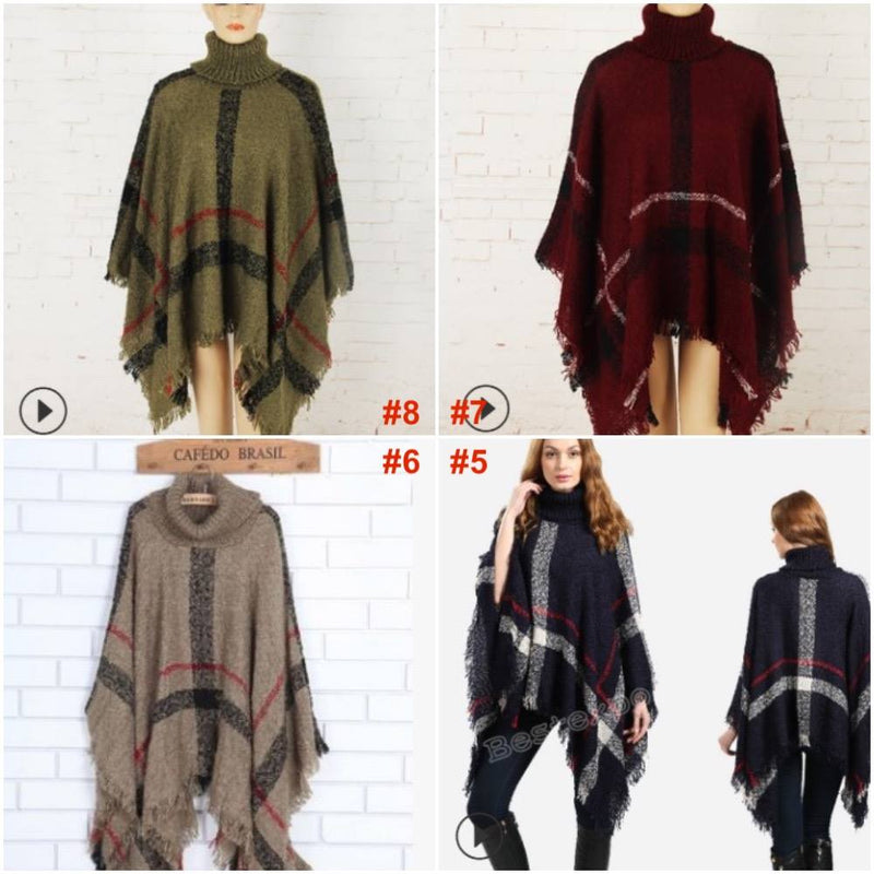 Poncho Sweaters