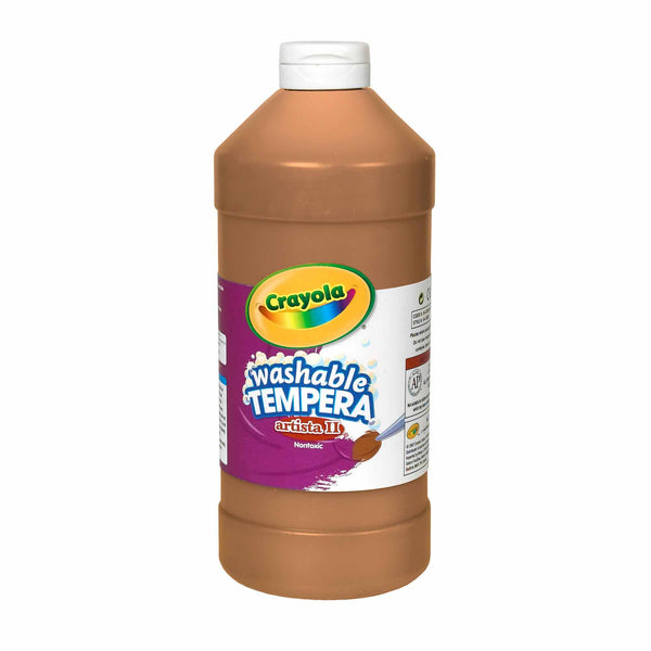 Clearance: WASHABLE TEMPERA PAINTS (946 ML BOTTLES) |  In-Stock, Ships Thursday