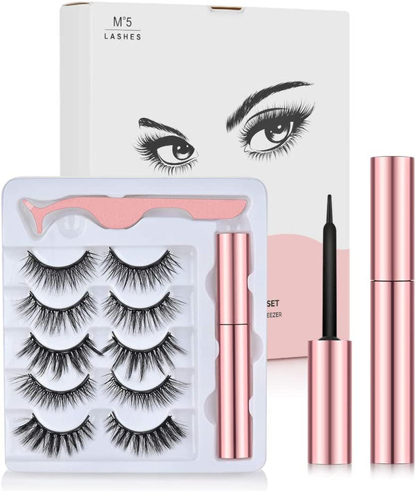 Magnetic Eyelashes and Eyeliner Kit | In-Stock, Ships Thursday