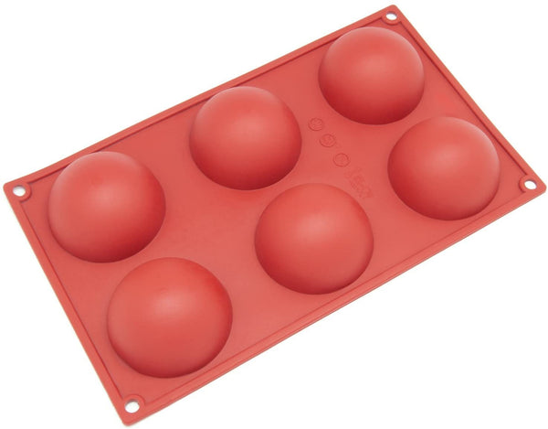 Multi-Purpose Silicone Sphere Molds | Ships January 8th