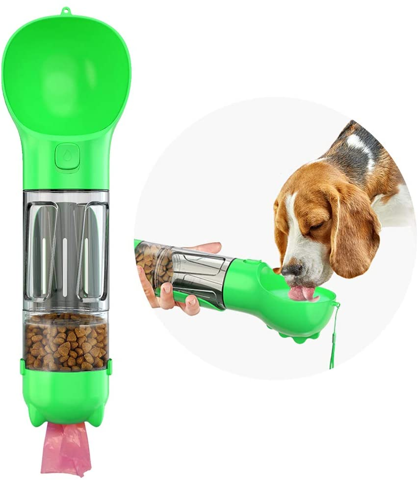 4 in 1 Pet Dispenser with Drinking Bowl | In-Stock, Ships Thursday
