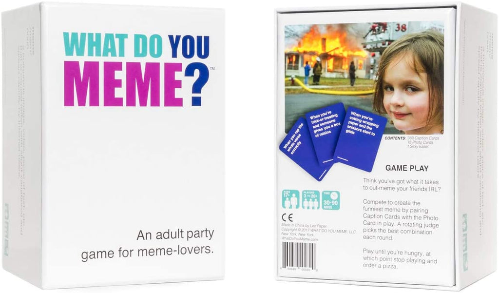 Adult Party Game: What Do You Meme? | In-Stock, Ships Thursday