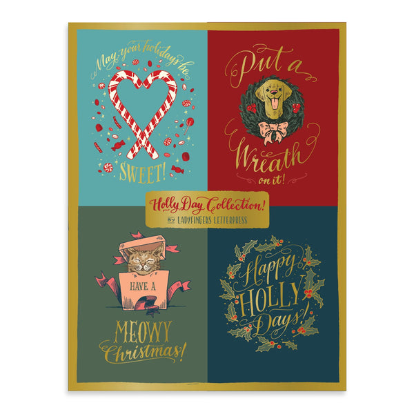 Holly Day Deluxe Notecard Collection | In-Stock, Ships Thursday