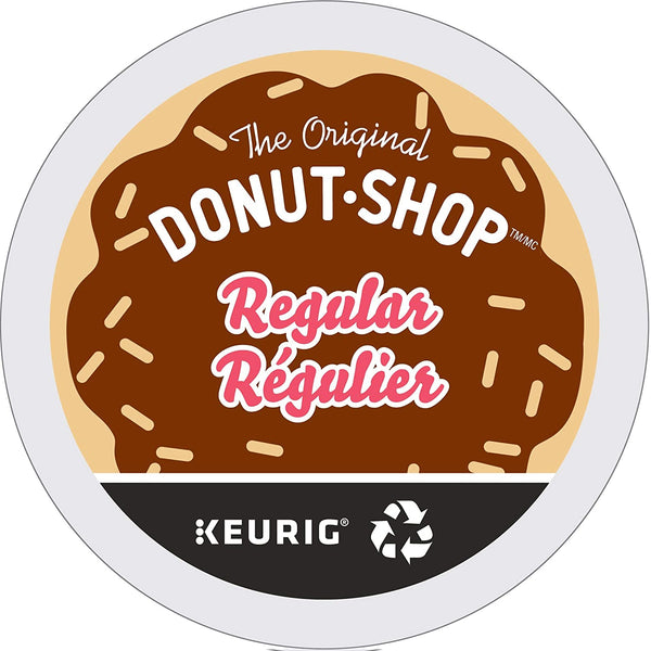 K-Cup Special: Donut Shop Coffee Single Serve (24) | In-Stock, Ships Thursday