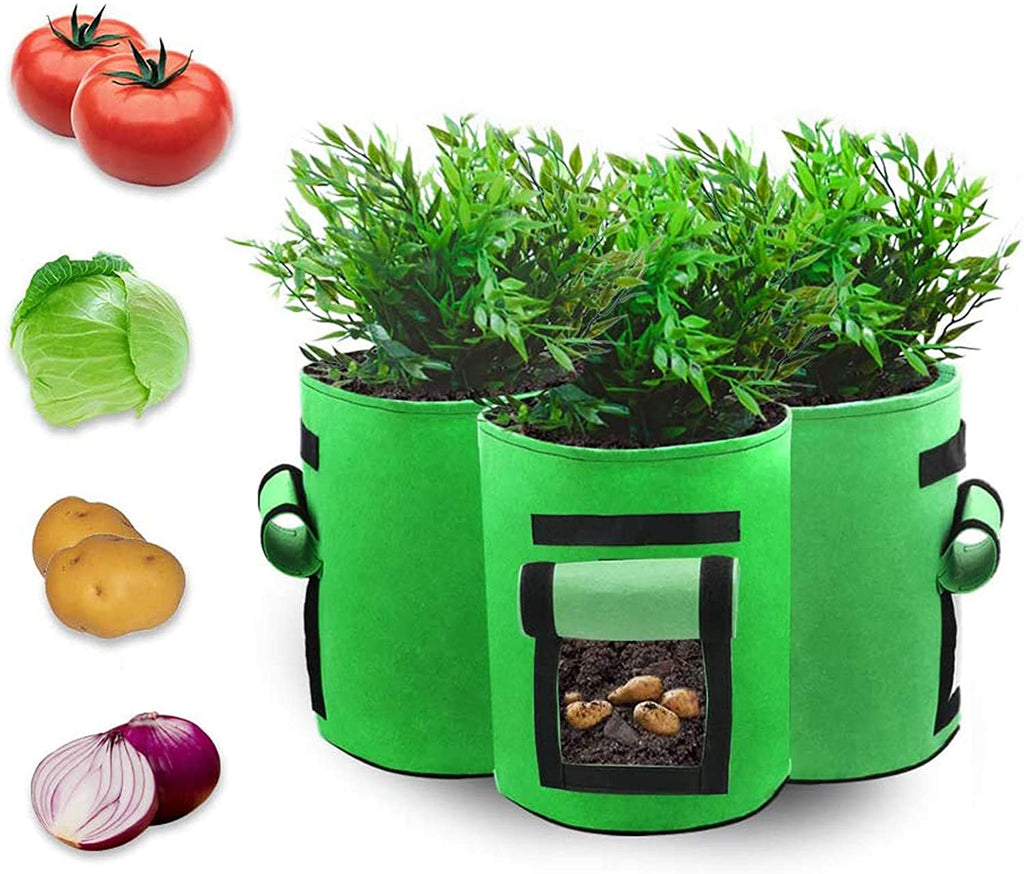 7 Gallon Vegetable Planter Bag (PACK OF 3) | In-Stock, Ships Thursday